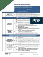 HSE Capability Assessment