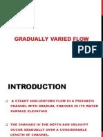 Gradually Varied Flow 123