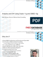 Oracle 11g and OBIEE Data Warehousing and Analytics