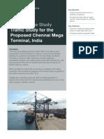Traffic Study for the Proposed Chennai Mega Terminal India