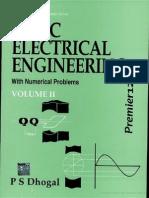 Basic Electrical Engg, Vol 2