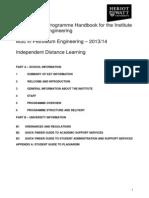 G137-PEE PetroleumEngineering ProgHandbook 201314 - IDL (Final)