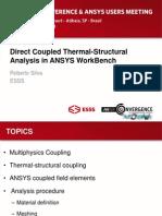 Coupled Thermal Stress Analysis seminar