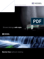 KESSEL 010 514 Shower Drainage With Style