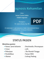 Case Report Session - Diagnosis Kehamilan