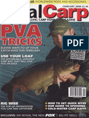 Total Carp Magazine Febr 2008 | Angling | Hobbies