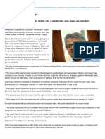 Malaysia a Religious-fascist State