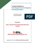 Course Material TwoDay Workshop Sheetemetal DHIO GTTC