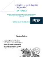 Agricultura Ecologica - I Toncea