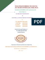 Design of Single Phase H-bridge Multilevel Inverter Using Microcontroller Atmel 89c51