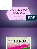 tugas herbal medicine