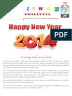 January 2014 Newsletter 10Jan14