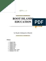 Root Islamic Education Abdal Qadir as-Sufi