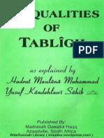 6PointsOfTablighByShaykhAl-hadithFazlurRahmanAzmi