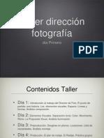 Taller Dirección Foto San Lorenzo 2012