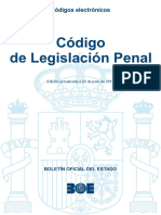 BOE-009 Codigo de Legislacion Penal