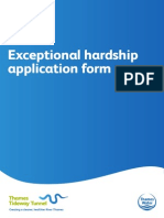 Exceptional hardship application form