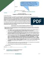 Debt Validation & Proof of Claim II