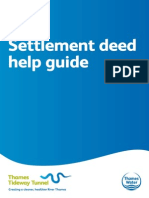 Settlement deed help guide