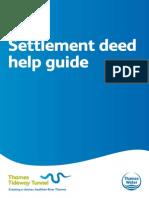 Settlement deed help guide