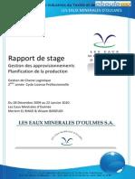 Rapport Oulmes