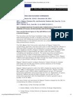 Magyar Telekom SEC Litigation Release (29 Dec 2011)