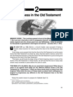 Forgiveness in the Old Testament 5-11 Apr 2003