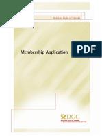 DGC application