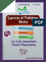 Exercices Et Probleme Resolus Tome 2 2013 Semestre 1 SMPC Et SMA Par ( Www.lfaculte.com)