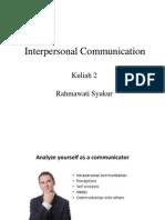 Interpersonal Communicati 2