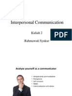 Interpersonal Communicati 2