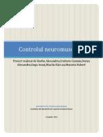 Final- Control Neuromuscular
