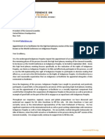 letter to pga with letterhead