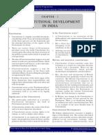 Constitutional Development in British Raj