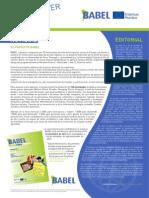 BABEL Newsletter 2012-12 ES