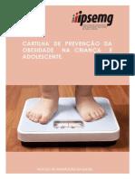 Cartilha Obsidade Infantil Impressao