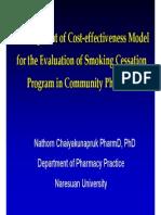 04 Cea Model Smoking Cessation Nathorn