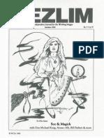 [Vol.1,No.4] Mezlim - Samhain 1990