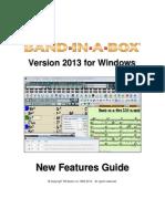 Band in a Box 2013 Upgrade Manual