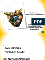 Presentation on Dyslipidemia on 20.11.13