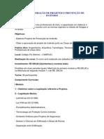 Curso Elaboração de Projetos de Incêndio - CBMDF