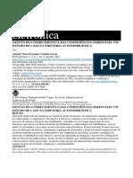 GESTÃO DO CONHECIMENTO E DAS COMPETÊNCIAS GERENCIAIS - INDUSTRIA AUTOMOBILISTICA