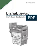 Bizhub 350 Manual
