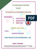 dictaduras de latinoamérica