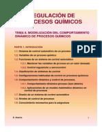 1.1 Modelizacion Del Comportamiento Dinamico de Procesos Quimico