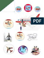 Aeroplanes Sticker