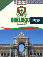Cardápio Obelisque