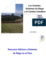 Los grandes sistemas de riego y el cambio climático - Jan Hendriks - IPROGA