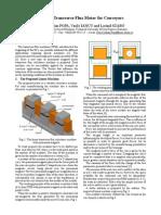 Linear Transverse Flux Motor for Conveyors