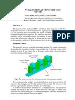 Permanent Magnet Linear Transverse Flux Motors